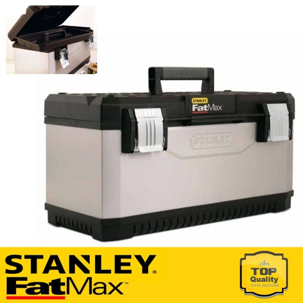 """Stanley 20"""" FATMAX Fém-műanyag szerszámos láda"""