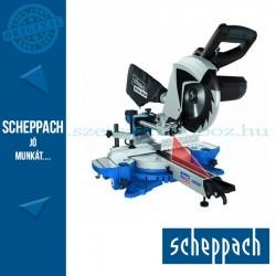 Scheppach HM 80 MP - multifunkciós kétsebességű gérvágó fűrész húzófunkcióval és lézerrel