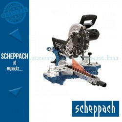Scheppach HM 254 - gérvágó fűrész húzófunkcióval és lézerrel