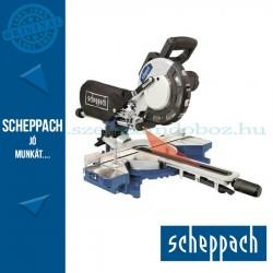 Scheppach HM 216 - gérvágó fűrész húzófunkcióval és lézerrel