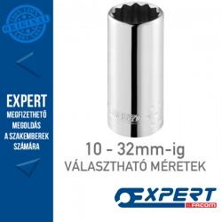 """Expert (by FACOM) 1/2"""" 12 Szögű DUGÓKULCSOK 10-32mm-ig Hosszú"""