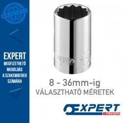 "Expert (by FACOM) 1/2"" 12 Szögű DUGÓKULCSOK 8-36mm-ig"
