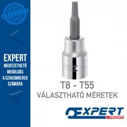 """Expert (by FACOM) 3/8"""" DUGÓKULCSOK Külső Torx Bit T8-T55-ig"""