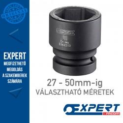 """Expert (by FACOM) 1"""" 6 Szögű GÉPI DUGÓKULCSOK 27-50mm-ig"""