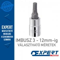 """Expert (by FACOM) 3/8"""" DUGÓKULCSOK Imbusz 3-12mm-ig"""