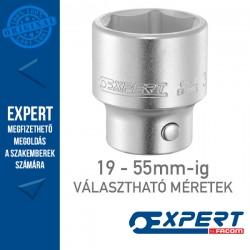 "Expert (by FACOM) 3/4"" 6 Szögű DUGÓKULCSOK 19-55mm-ig"