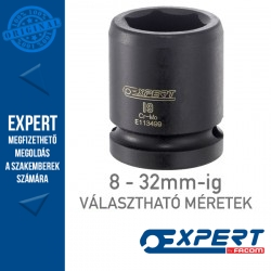 """Expert (by FACOM) 1/2"""" 6 Szögű GÉPI DUGÓKULCSOK 8-32mm-ig"""
