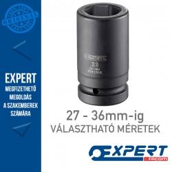 """Expert (by FACOM) 1"""" 6 Szögű GÉPI DUGÓKULCSOK 27-36mm-ig Hosszú"""