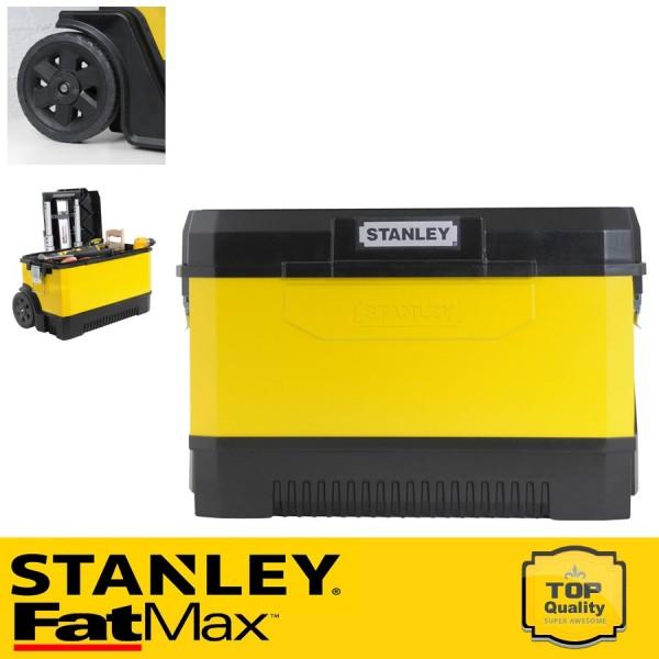 Stanley Fém-műanyag szállító + szerszámosláda