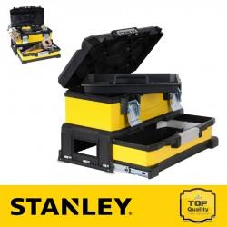 """Stanley 20"""" Fém-műanyag szerszámdoboz fiókkal"""
