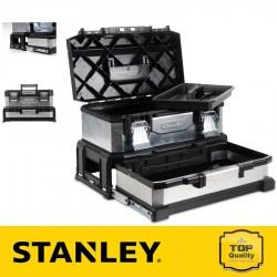 """Stanley 20"""" Galvanizált fém-műanyag szerszámdoboz fiókkal"""