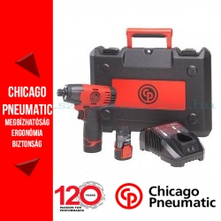 """Chicago Pneumatic CP8818 Akkumulátoros ütvecsavarhúzó 12V 1/4"""""""