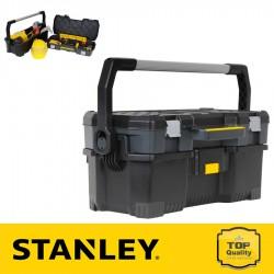 """Stanley 24"""" Szerszámosláda felső tárolódobozzal"""
