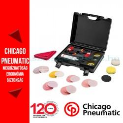 Chicago Pneumatic CP7200 mini csiszoló + CP7201 mini polírozó + TARTOZÉKKÉSZLET