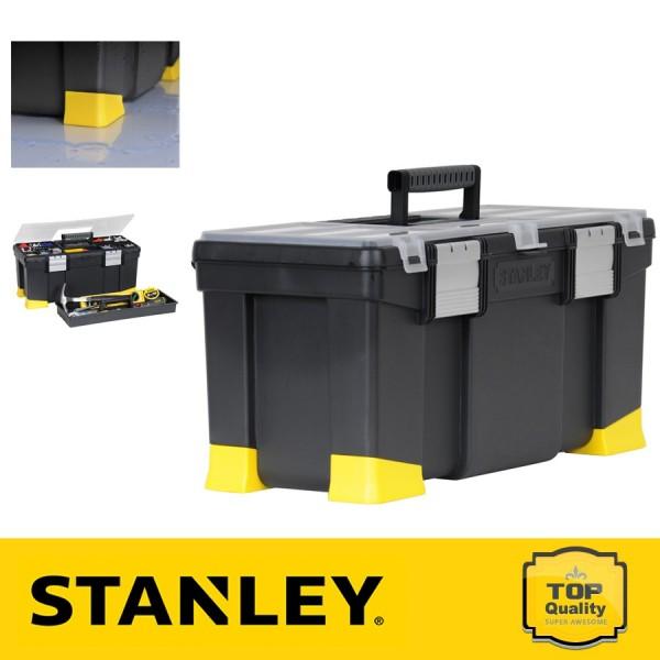 """Stanley 22"""" Szerszámosláda ütéstompító tappancsokkal"""
