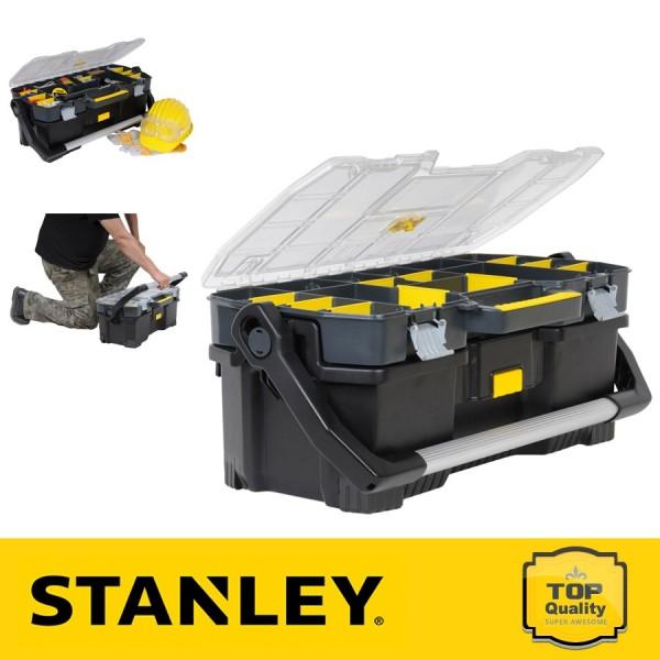 """Stanley 24"""" Szerszámosláda felső szortimenterrel"""