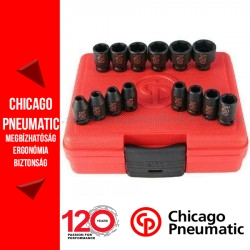 "Chicago Pneumatic SS2114 1/4"" Dugókulcs készlet"
