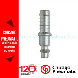 Chicago Pneumatic csatlakozó 10mm, 7,6mm