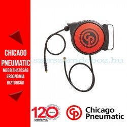 Chicago Pneumatic tömlődob 1/4'' - BSP 8mm - 10m