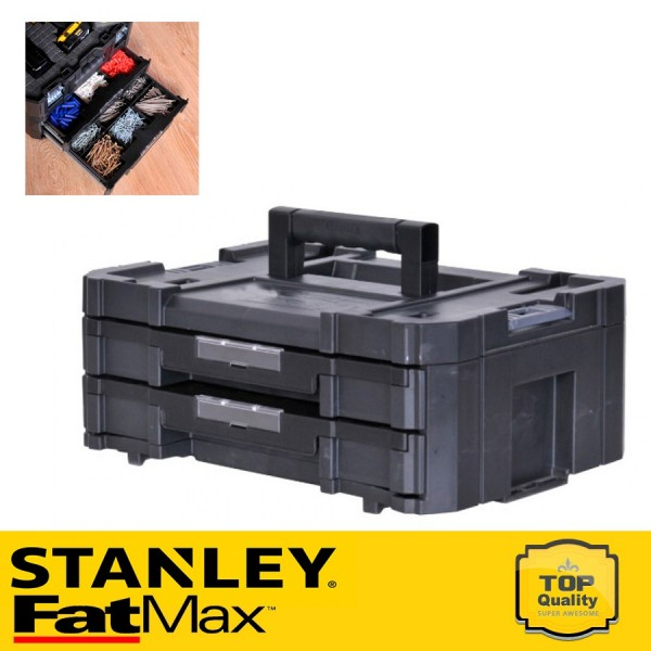 Stanley FATMAX TSTAK IV - Dupla fiókegység