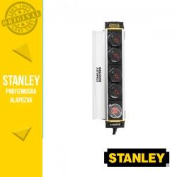 STANLEY 4-es elosztó kapcsolóval, csíptetős