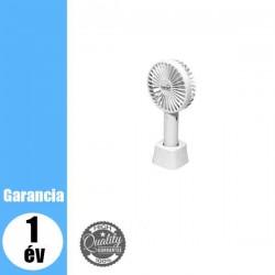 HF 9/WH Kézi, tölthető ventilátor