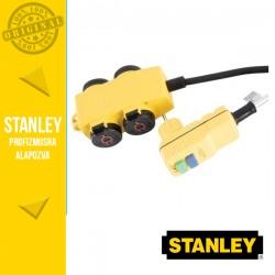 STANLEY 4-es elosztó kapcsolóval, RCD dugóval-5m