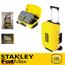 Stanley FATMAX Szerszámos bőrönd, kerekes