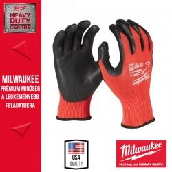Milwaukee Vágásbiztos védőkesztyű - 3. vágási szint - L/9 -1pár