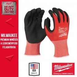 Milwaukee Vágásbiztos védőkesztyű - 1. vágási szint - XL/10-1pár