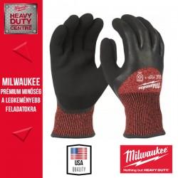 Milwaukee Vágásbiztos védőkesztyű-téli verzió - 3. vágási szint -XXL/11 -1pár