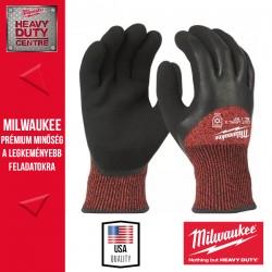 Milwaukee Vágásbiztos védőkesztyű-téli verzió - 3. vágási szint -XL/10 -1pár