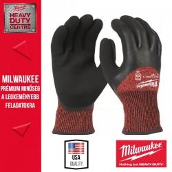 Milwaukee Vágásbiztos védőkesztyű-téli verzió - 3. vágási szint - L/9 -1pár