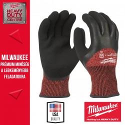 Milwaukee Vágásbiztos védőkesztyű-téli verzió - 3. vágási szint - M/8 -1pár