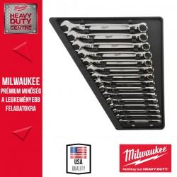 Milwaukee Csillag-villáskulcs készlet, metrikus 15 részes