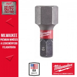Milwaukee Shockwave bit Hex10 25mm-2db