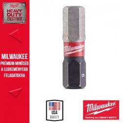 Milwaukee Shockwave bit Hex6 25mm-2db