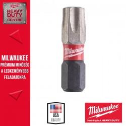 Milwaukee Shockwave bit TX40 25mm-2db