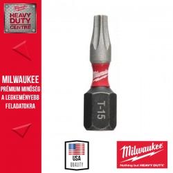 Milwaukee Shockwave bit TX15 25mm-2db