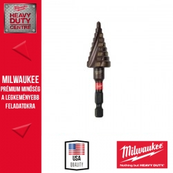 Milwaukee SHOCKWAVE™ Impact Duty™ lépcsős fúró 4-20 mm - 1 db