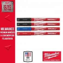 Milwaukee INKZALL™ Filctoll 0,6 mm hegyű Színes (4 darabos kiszerelés) 1 db
