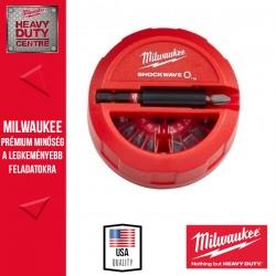 Milwaukee 15 darabos Shockwave™ PH/PZ/TX készlet 1 db