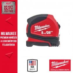 Milwaukee Pro Compact Mérőszalag 8 m /26 láb / 25 mm 1 db