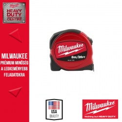 Milwaukee Slimline mérőszalag 8 m /26 láb / 25 mm 1 db