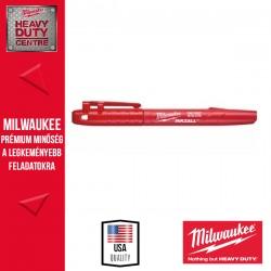 Milwaukee INKZALL™ Jelölő filc Vékony tartós hegyű Piros - 1 db