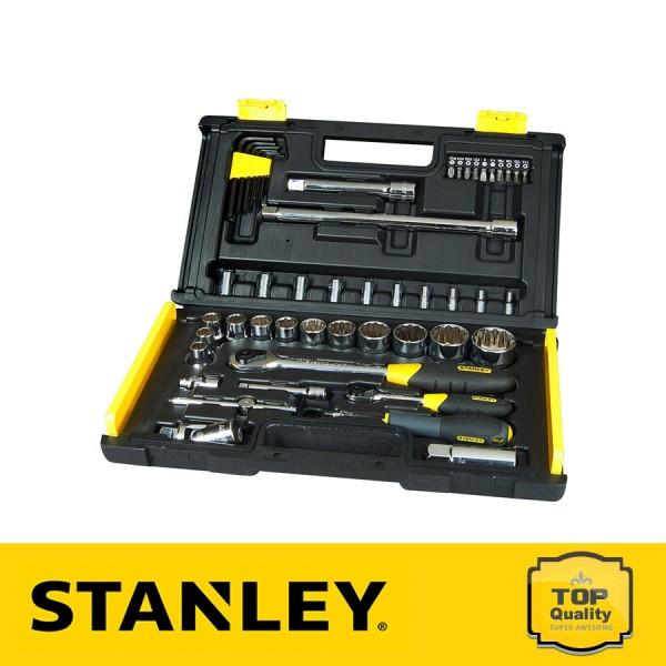 Stanley Profi Mikroracsnis dugókulcs készlet 50db-os