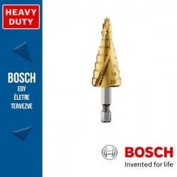 """Bosch HSS-TiN lépcsős fúró, 9 lépcsős, 4 - 20 mm, 1/4"""", 75 mm"""