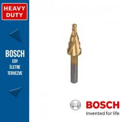 Bosch HSS-TiN lépcsős fúró, 5 lépcsős, 4-12 mm, 6,0 mm, 50 mm