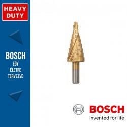 Bosch HSS-TiN lépcsős fúró, 9 lépcsős, 4-20 mm, 8,0 mm, 70,5 mm