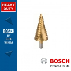 Bosch HSS-TiN lépcsős fúró, 12 lépcsős, 6-37 mm PG7-PG29, 10,0 mm, 93 mm